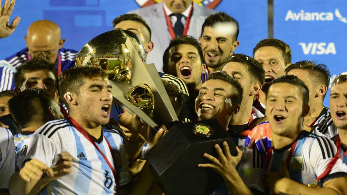 Argentina gana el Sudamericano Sub-20 y clasifica a Río 2016