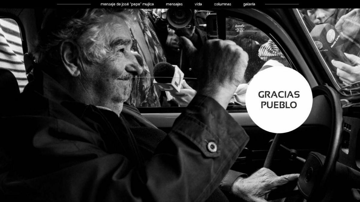 José Mujica lanza su página en internet