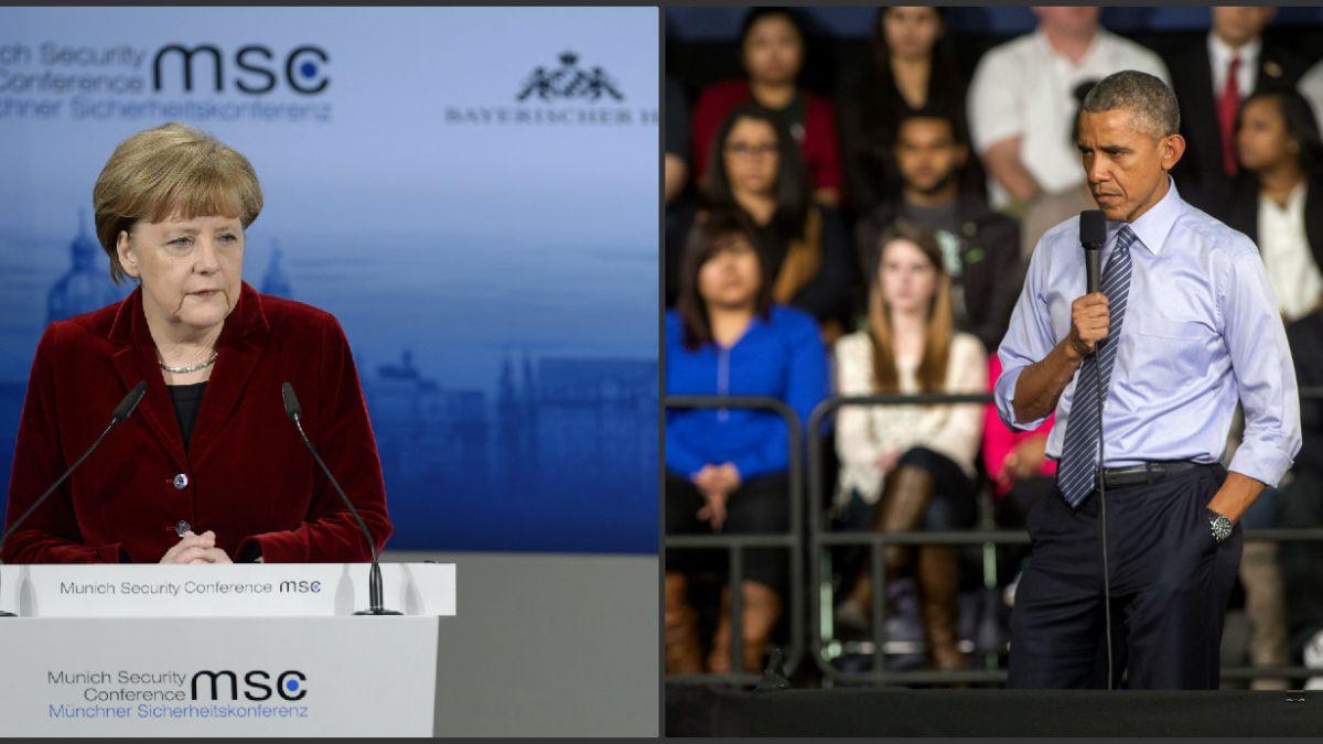Merkel y Obama se reúnen para tratar la crisis en Ucrania