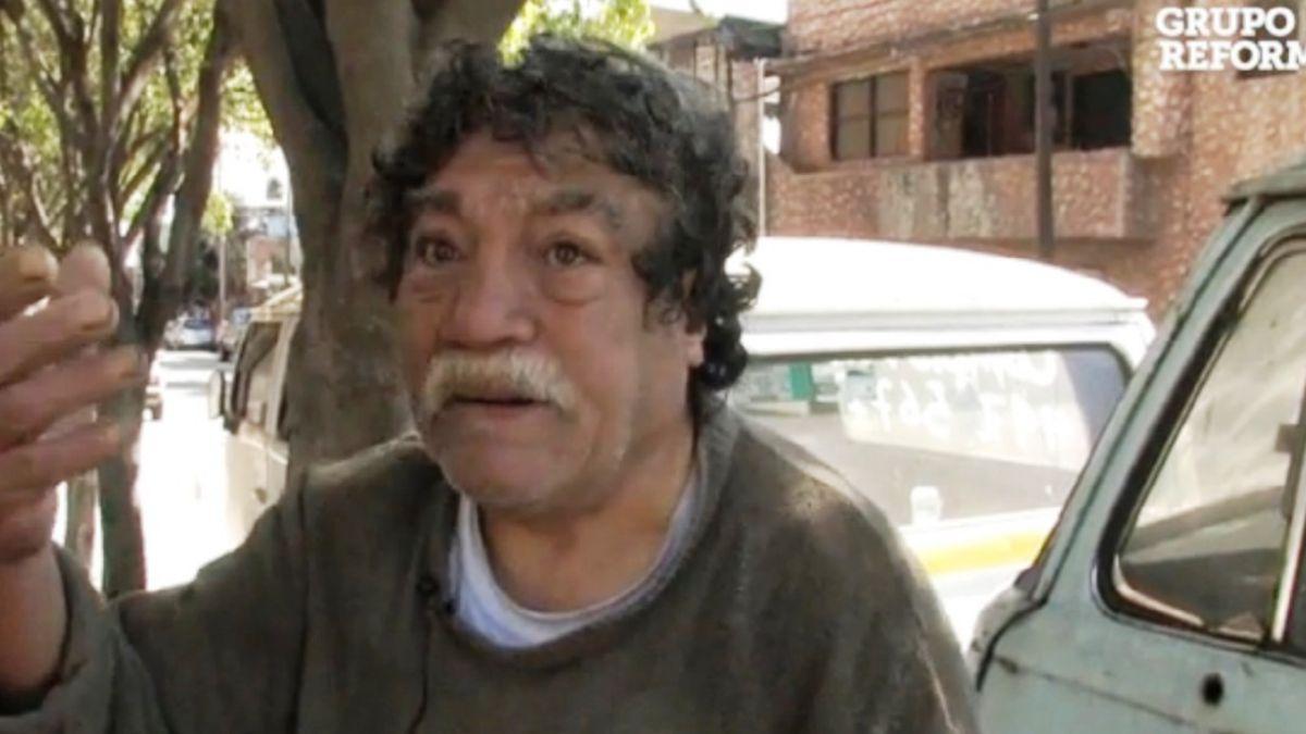 Ex integrante de Los Ángeles Negros vive como indigente en México