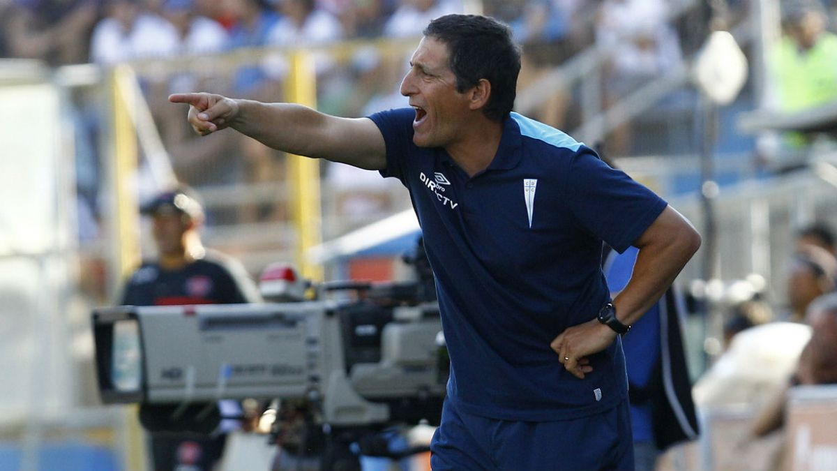 Mario Salas: No voy a dejar de vivir el fútbol como lo siento