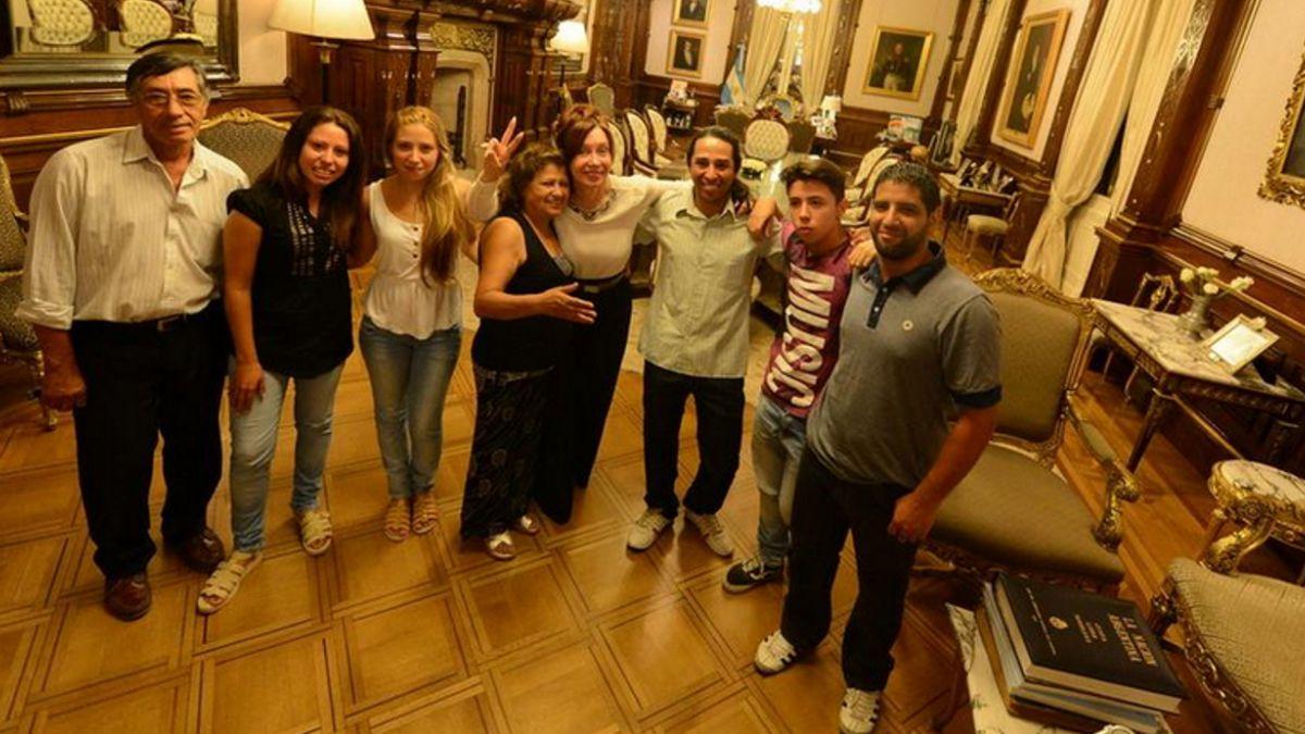 La foto de Cristina Fernández de Kirchner que sorprende en Argentina