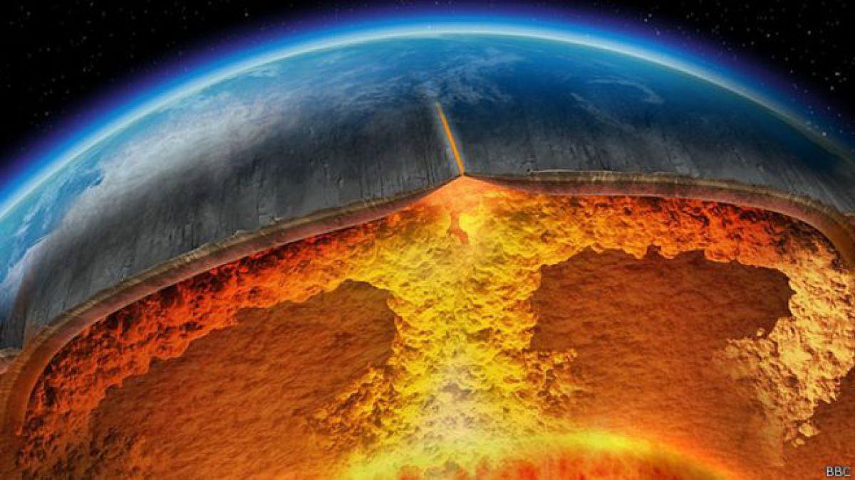¿Qué hay en el centro de la Tierra?