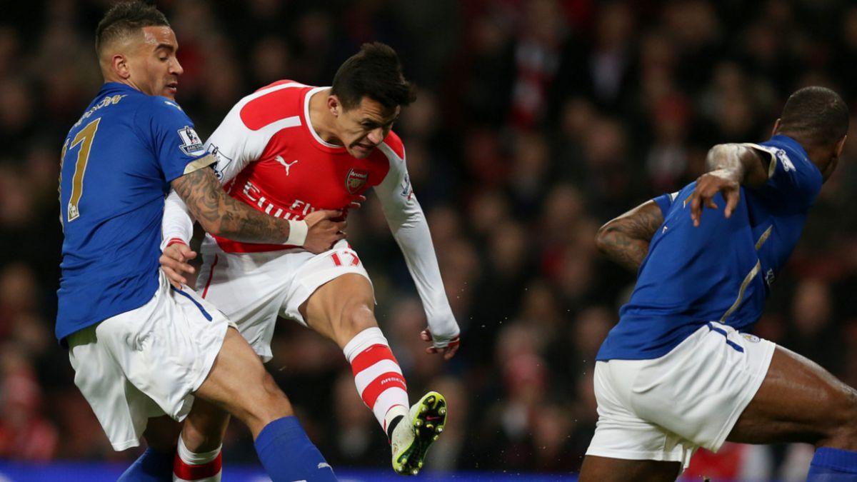 Los descargos de Alexis tras ser reemplazado ante Leicester