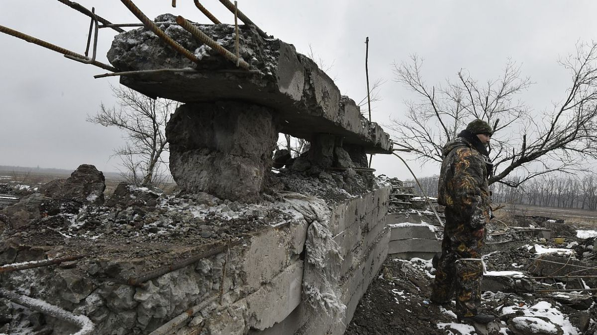 Aumenta la violencia en Ucrania a pocas horas de la cumbre de paz
