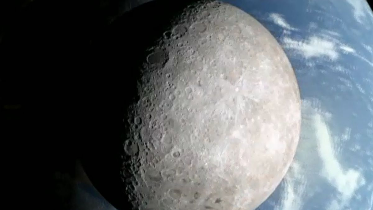 Imágenes de la Nasa revelan el lado oculto de la Luna