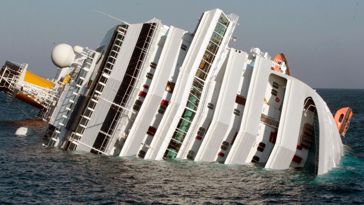 Confirman condena para capit n del crucero costa concordia tele 13 - Mes del crucero ...