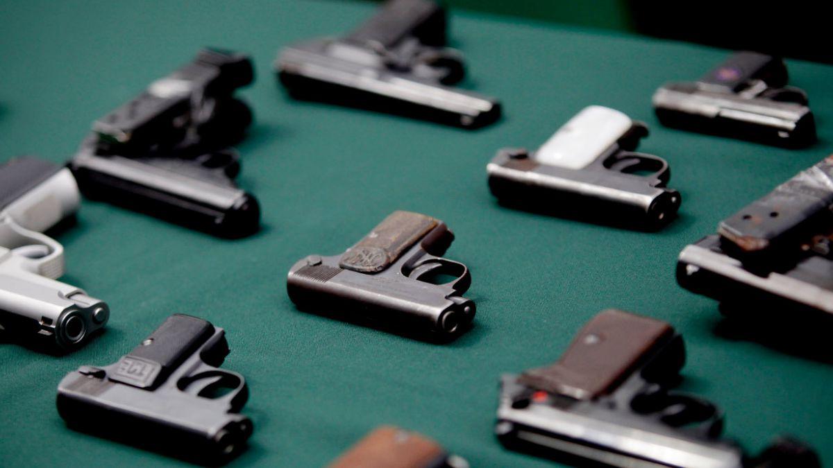 Carabineros ha recibido más de 1.200 armas por entrega voluntaria