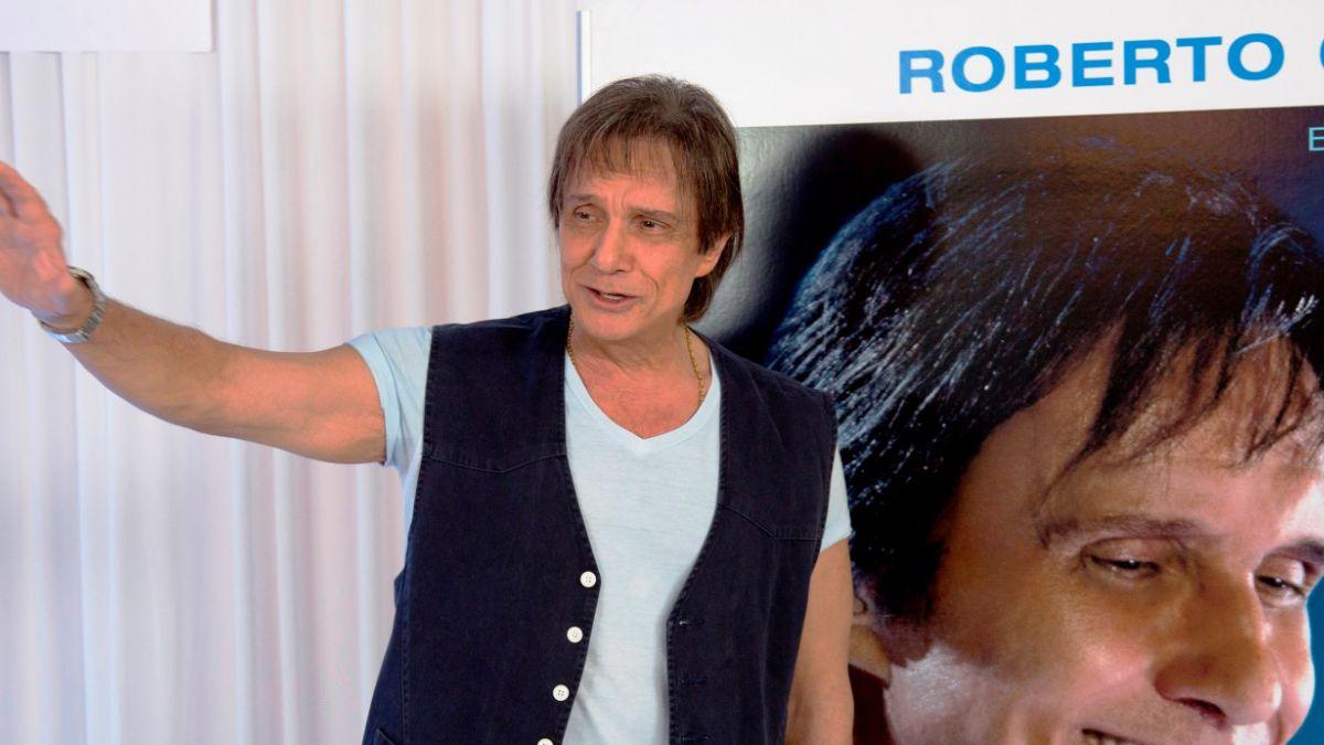 Roberto Carlos anuncia concierto en Chile