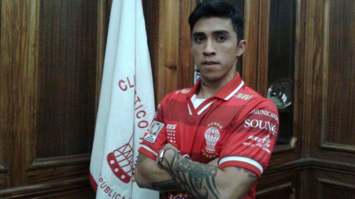 30 días sin presentarse en Huracán lleva Edson Puch