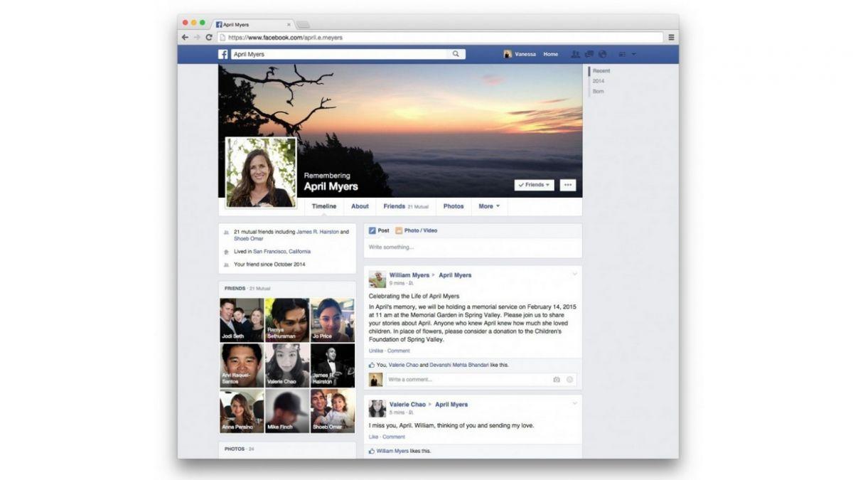 Facebook permitirá nombrar herederos para manejar cuentas