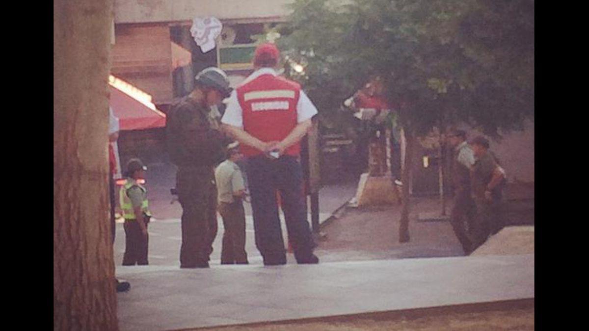 Mochila abandonada moviliza al GOPE en Metro Escuela Militar