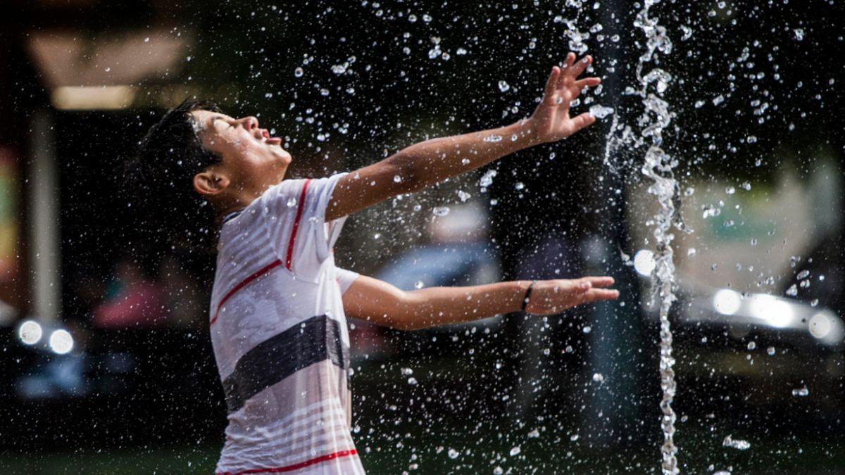 Ola de calor: Termómetros marcaron 38° en la zona central