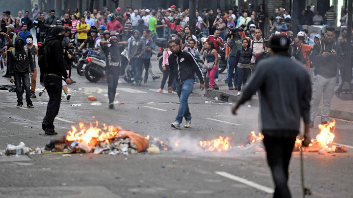 Venezuela: Así fue la violenta conmemoración del primer año de protestas masivas