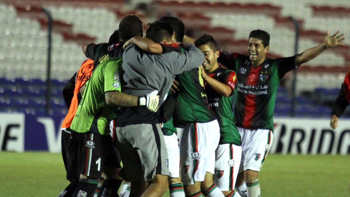 Máxima autoridad de Palestina vibra con la campaña del club en la Copa Libertadores