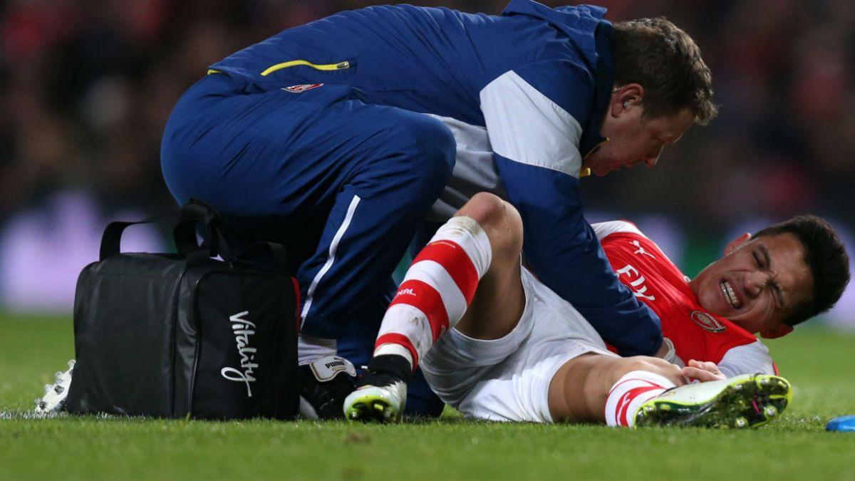 Alexis es duda para partido de Arsenal este domingo por FA Cup