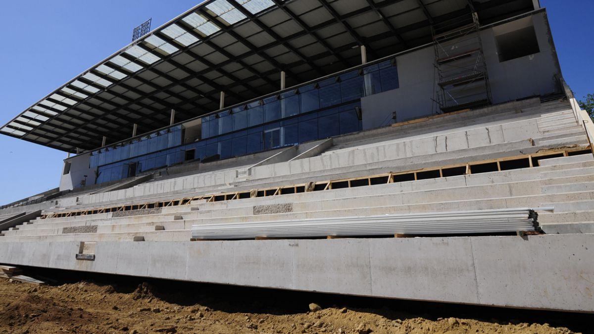 Así luce la cancha del estadio Sausalito