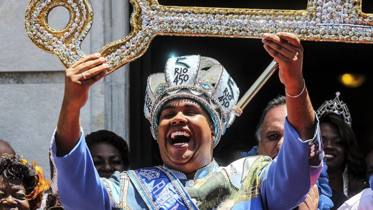 [FOTOS] Rey Momo da el vamos al carnaval de Río de Janeiro 2015