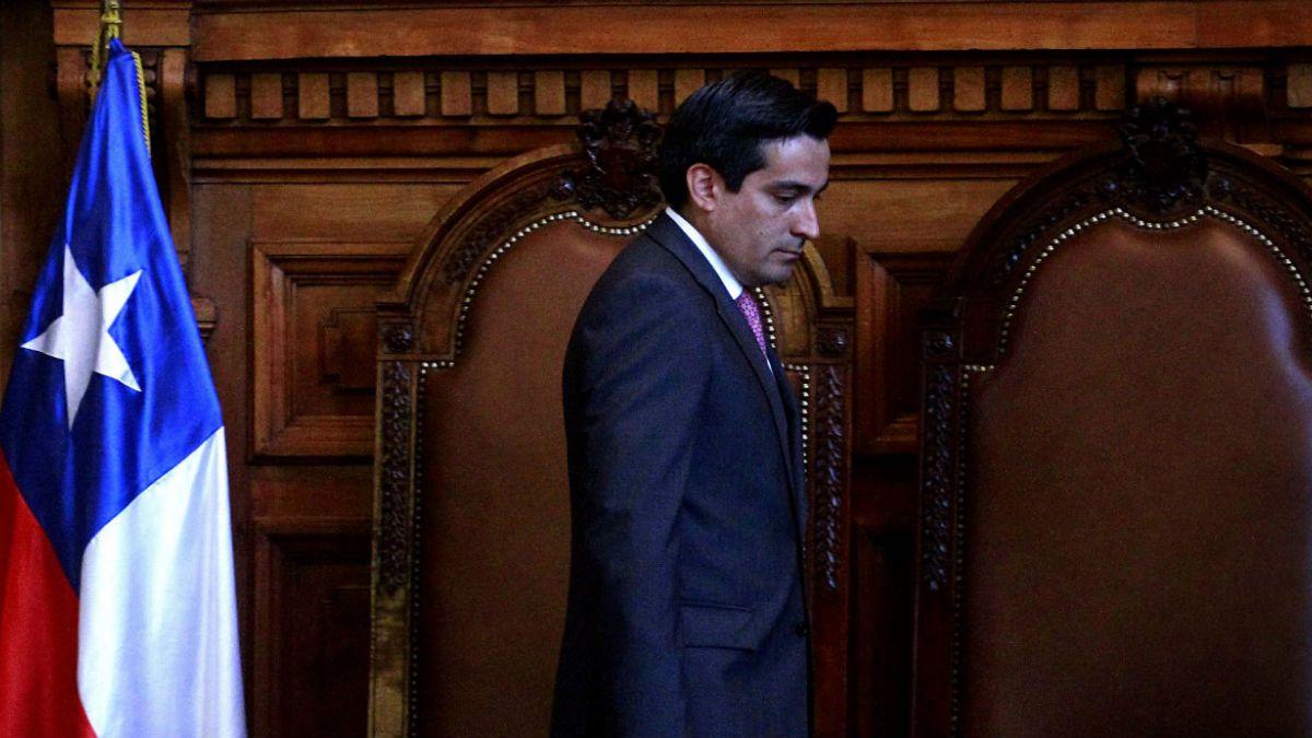 Peñailillo por renuncia de Dávalos: Fue una actitud correcta y comprensiva
