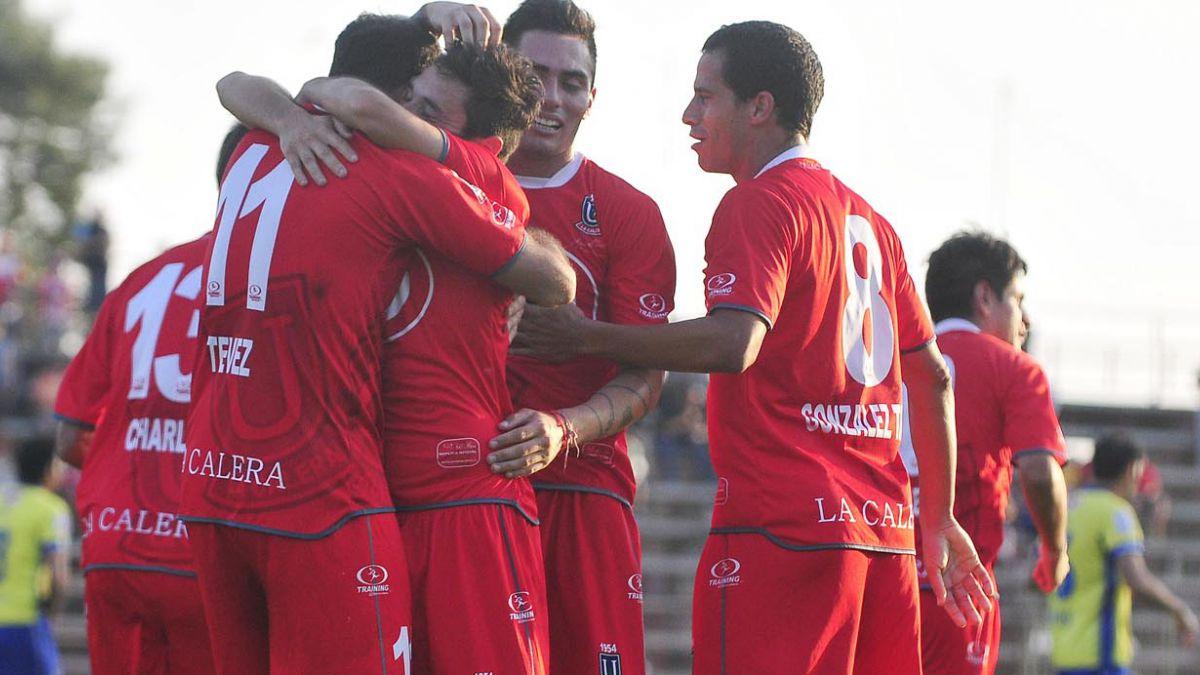 Unión La Calera gana y es puntero exclusivo del torneo