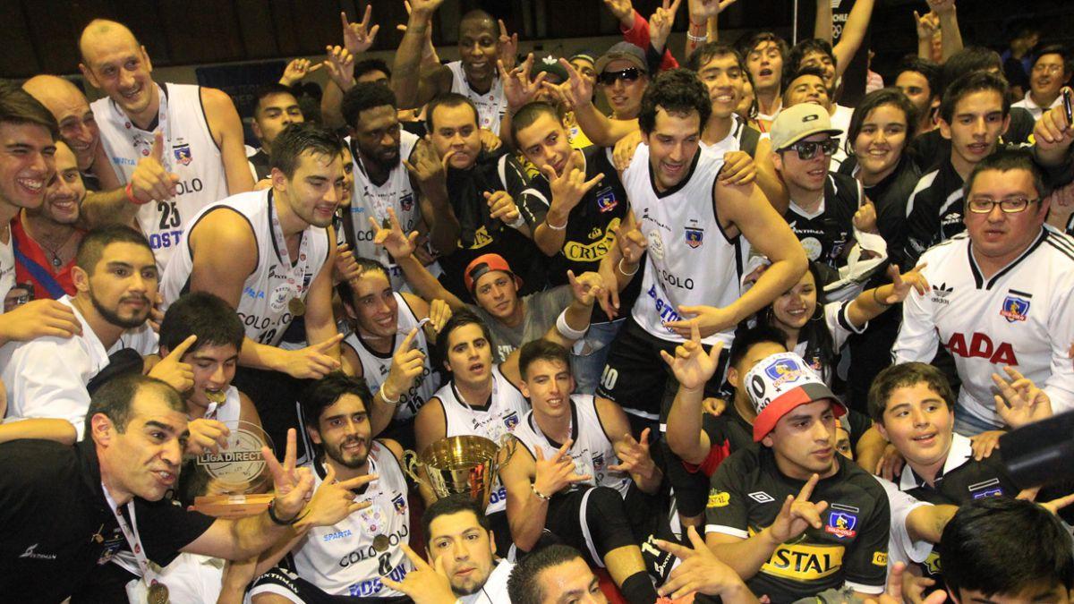 Tras 19 años: Colo Colo campeón del básquetbol chileno