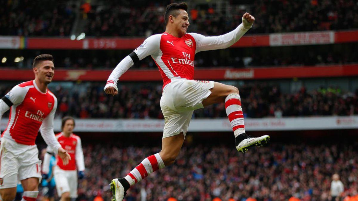 Alexis Sánchez es el segundo jugador que más camisetas vende en la Premier