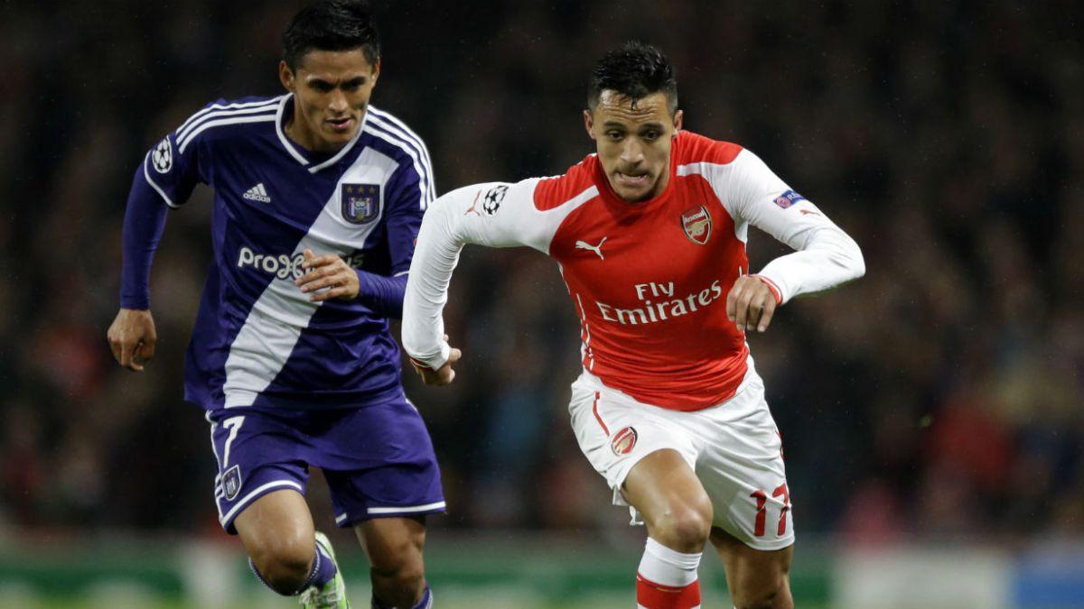 Alexis es elegido en el equipo ideal de la Champions