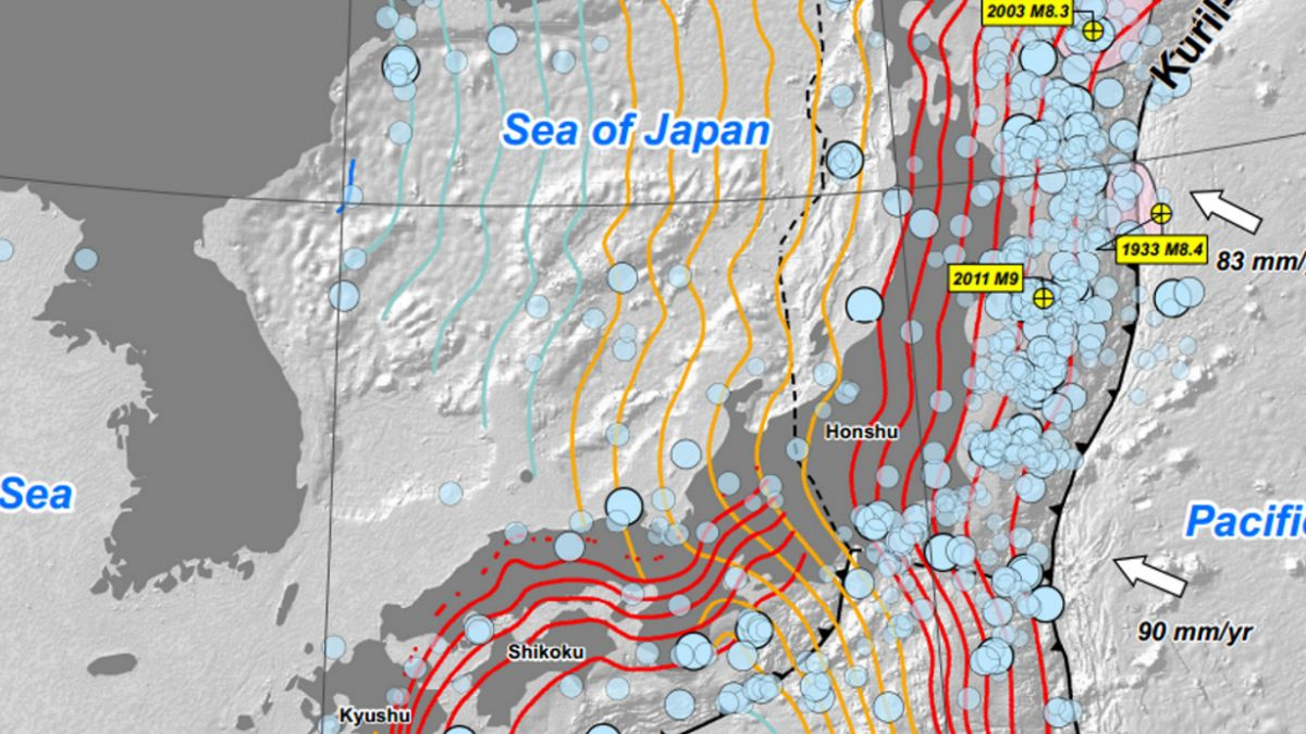 Sismo 6,9 se registra en Japón