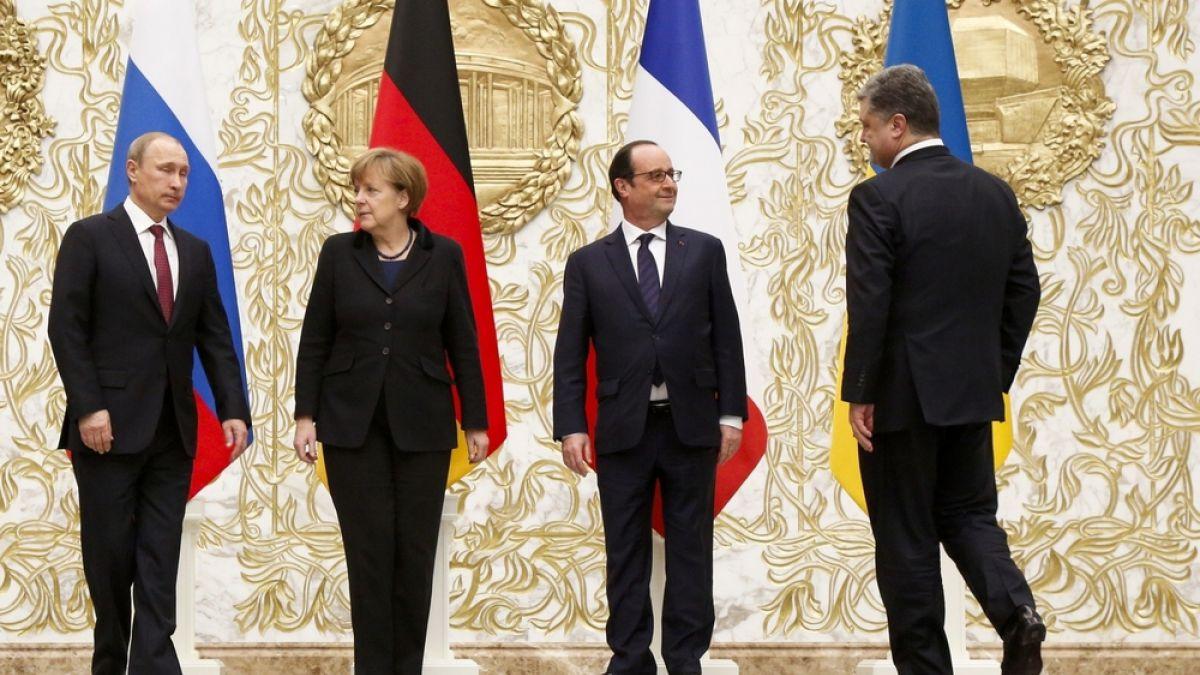 Merkel, Poroshenko y Putin llegan a acuerdo sobre acceso a Ucrania de observadores de la OSCE