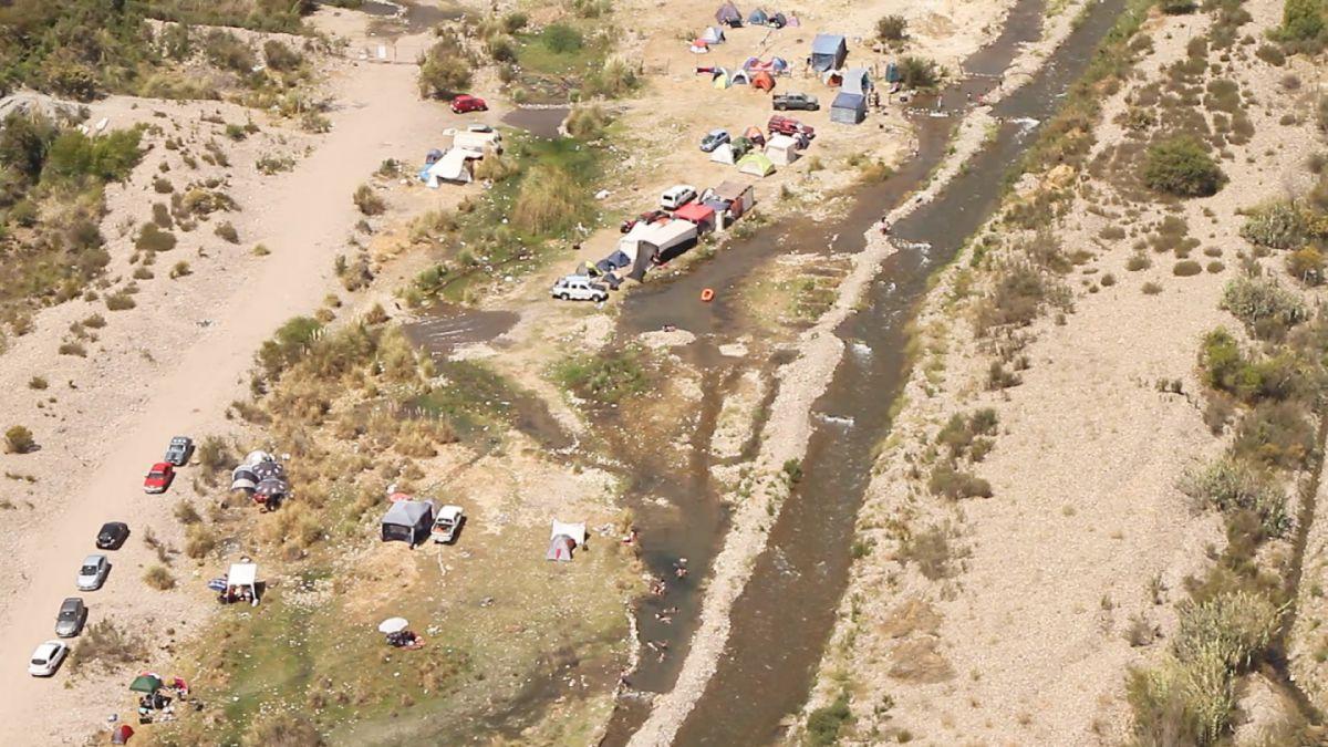 Actividad de bañistas en Elqui afectaría el abastecimiento de agua potable
