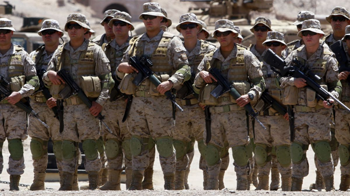 Resultado de imagen para ejército de chile