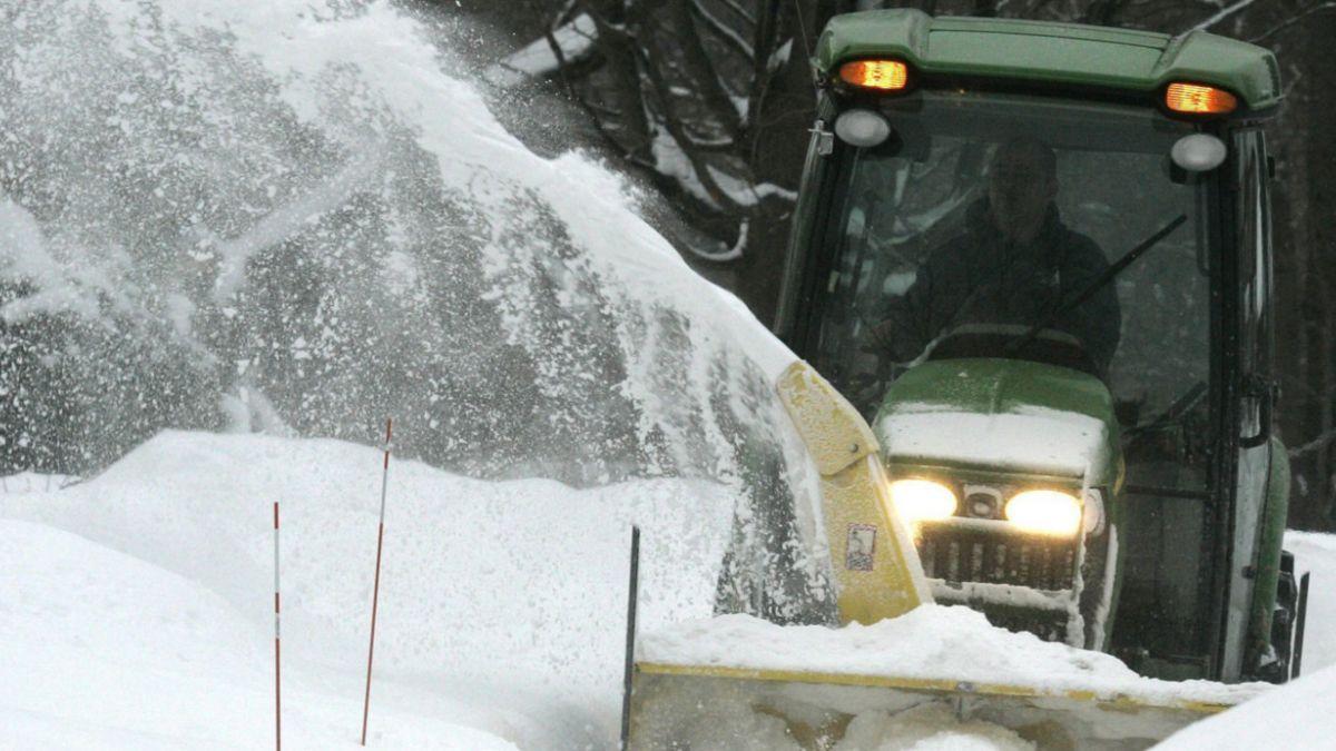 ¿Cómo hacen las ciudades de EE.UU. para deshacerse de cantidades récord de nieve?