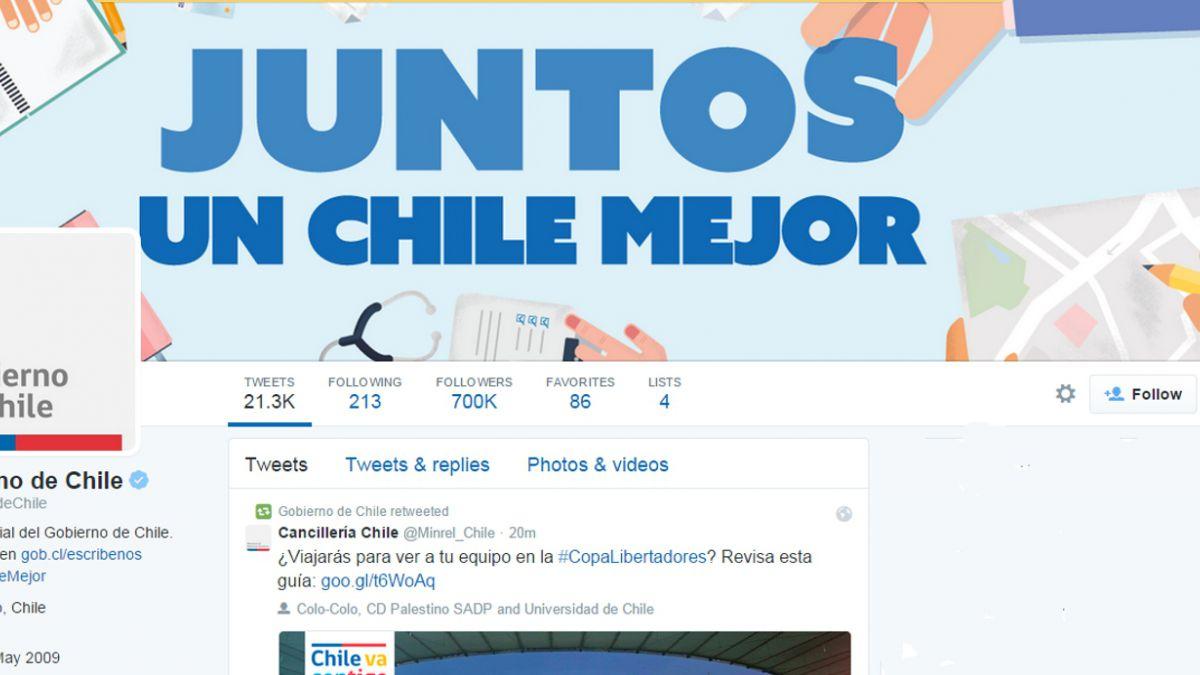 OCDE destaca cuenta de Twitter del gobierno en tercer lugar de ranking mundial