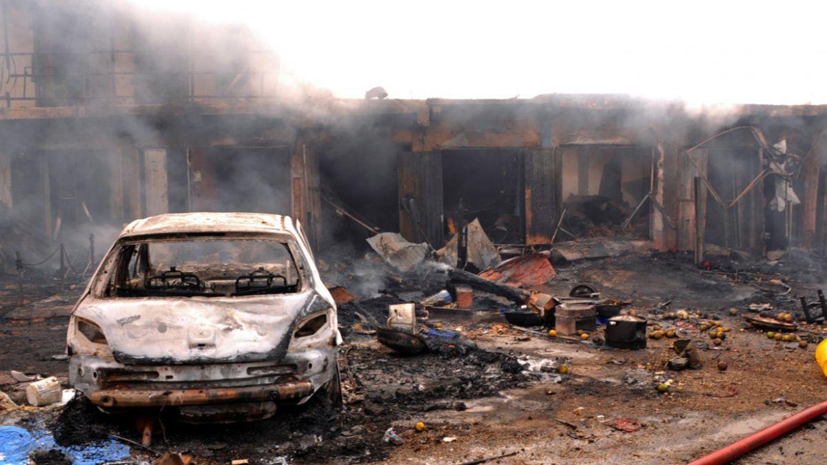 Ataque aéreo deja por error 37 muertos en un funeral en Nigeria