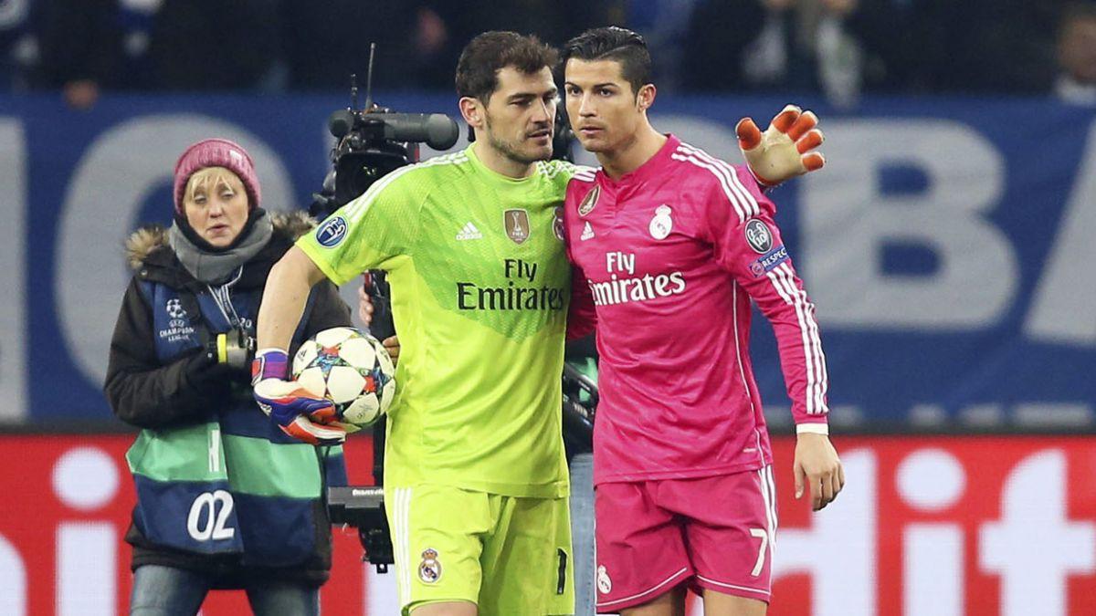 [VIDEO] La frustrada chilena de Cristiano en el triunfo del Madrid sobre Schalke 04