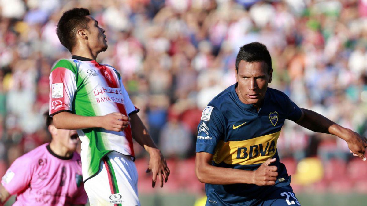 Palestino cae en el debut de Copa Libertadores