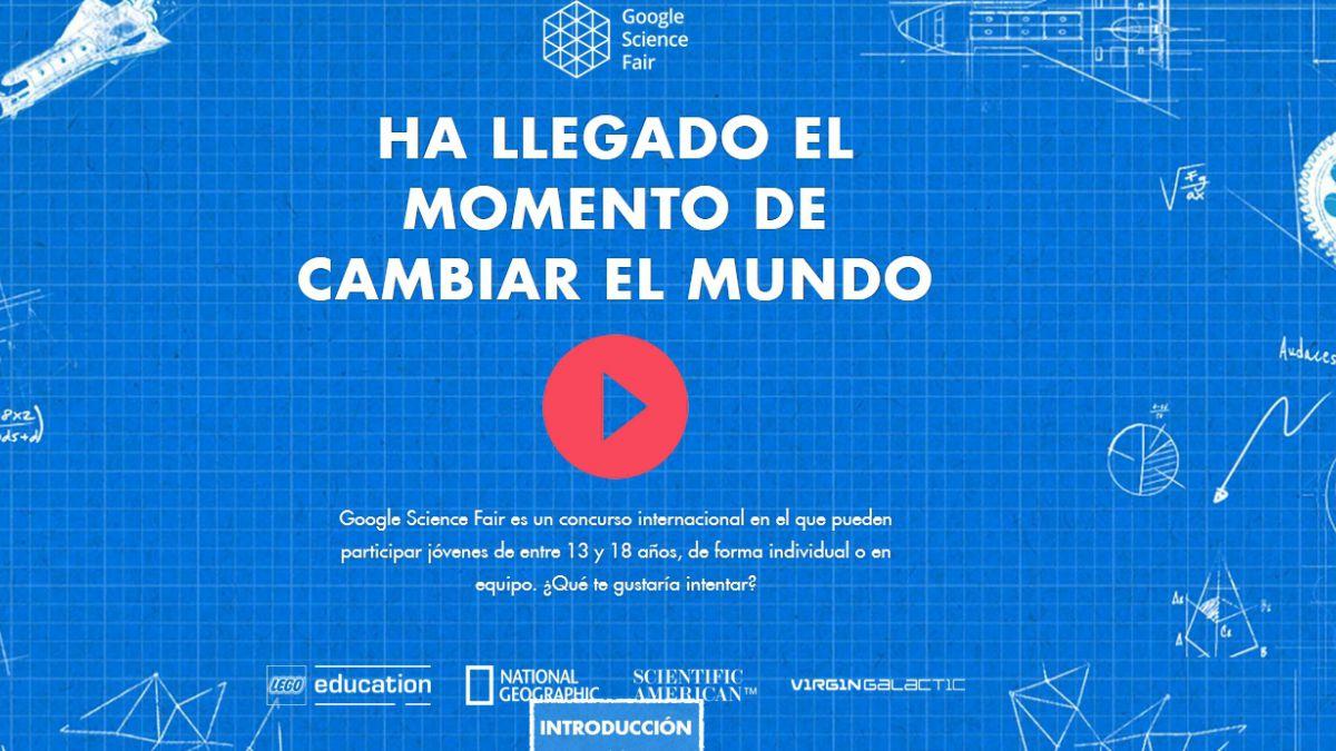 Google comenzó inscripción para feria de ciencia juvenil