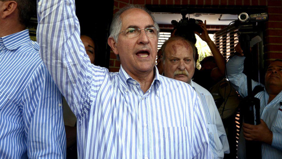 Presentan formalmente cargos contra el alcalde de Caracas, Antonio Ledezma