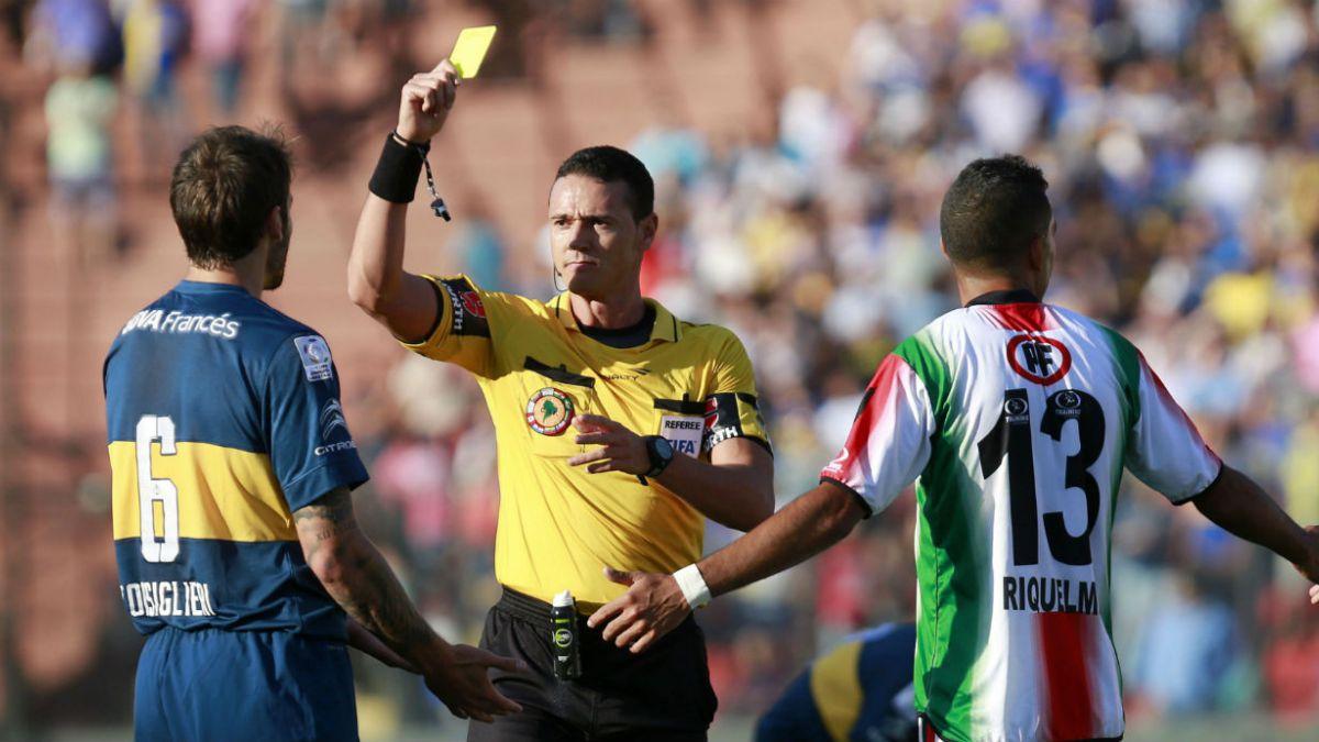 Se definieron los árbitros para los chilenos en la Libertadores