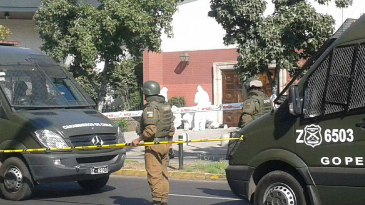 Artefacto explosivo detona en Las Condes