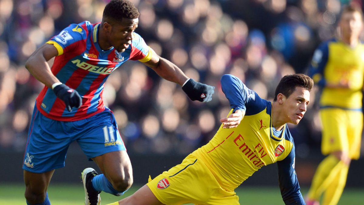 Arsenal de Alexis vence al Crystal Palace y sube a tercera posición