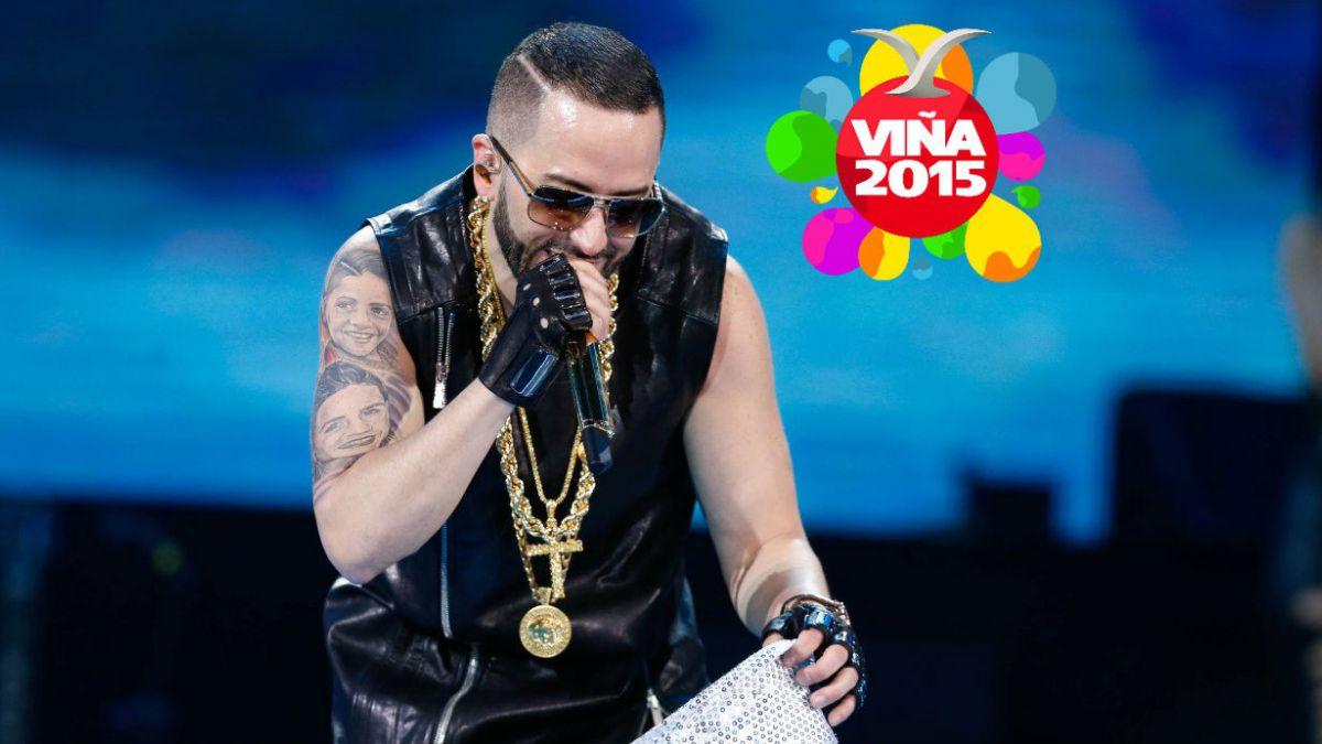 Viña 2015: Yandel hace bailar al monstruo en un show sin novedad