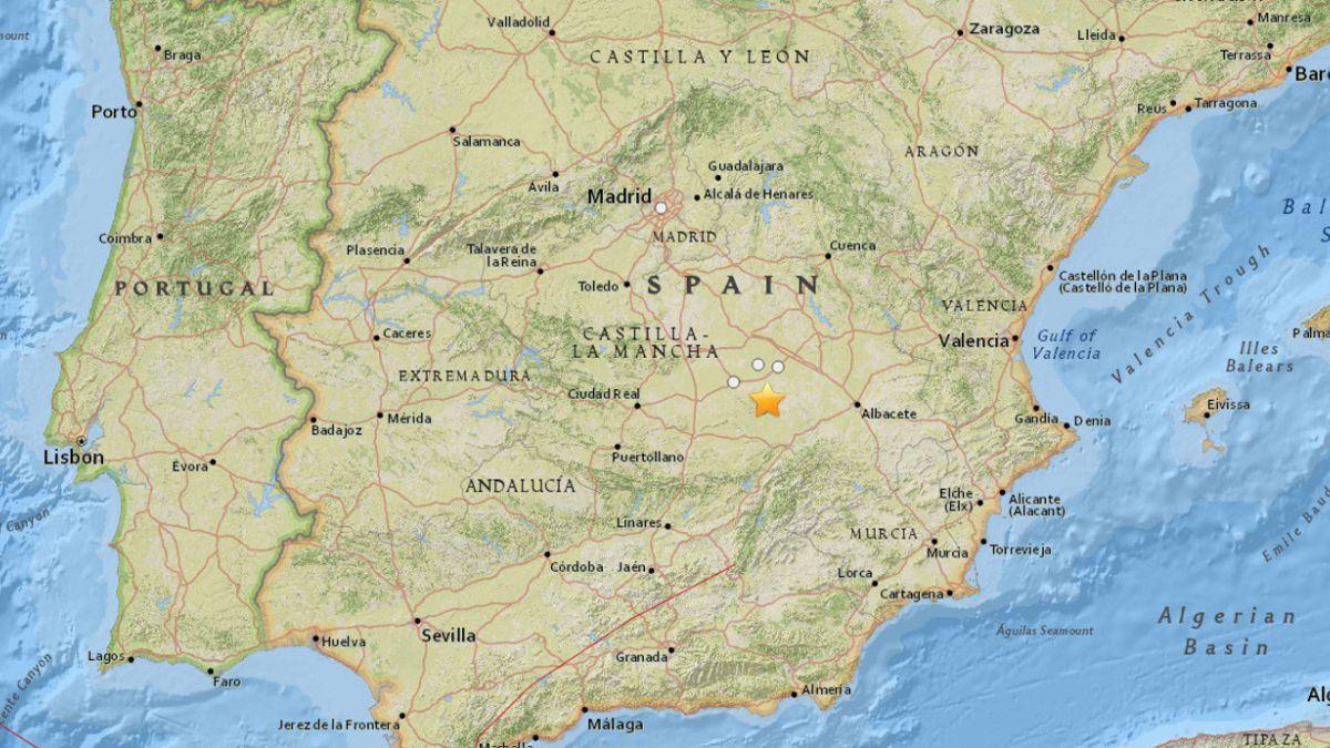 Un sismo de 4,7 Richter sacude a España