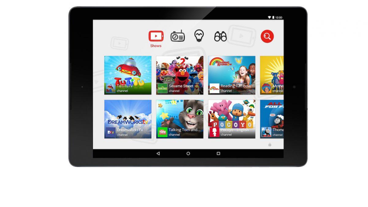 YouTube lanzó aplicación especial para niños