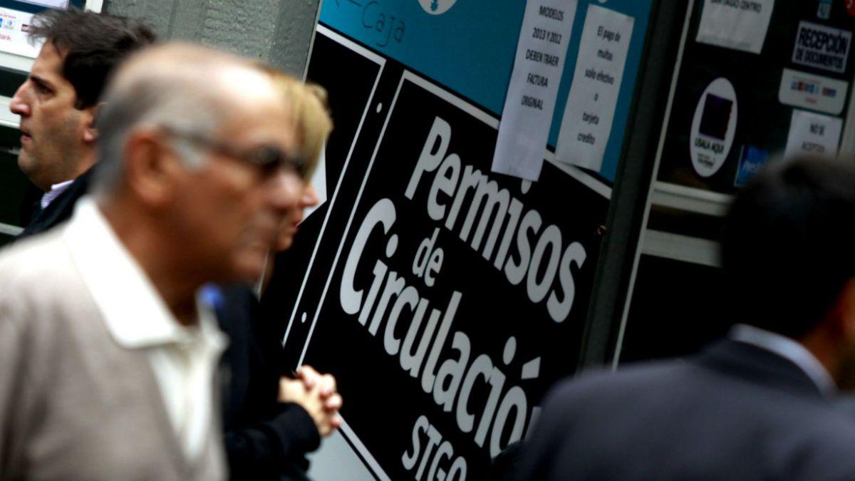Permisos de Circulación: Un 72% del país cuenta con el sistema de pagos online