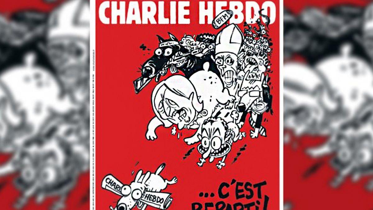 Así será la próxima portada de Charlie Hebdo