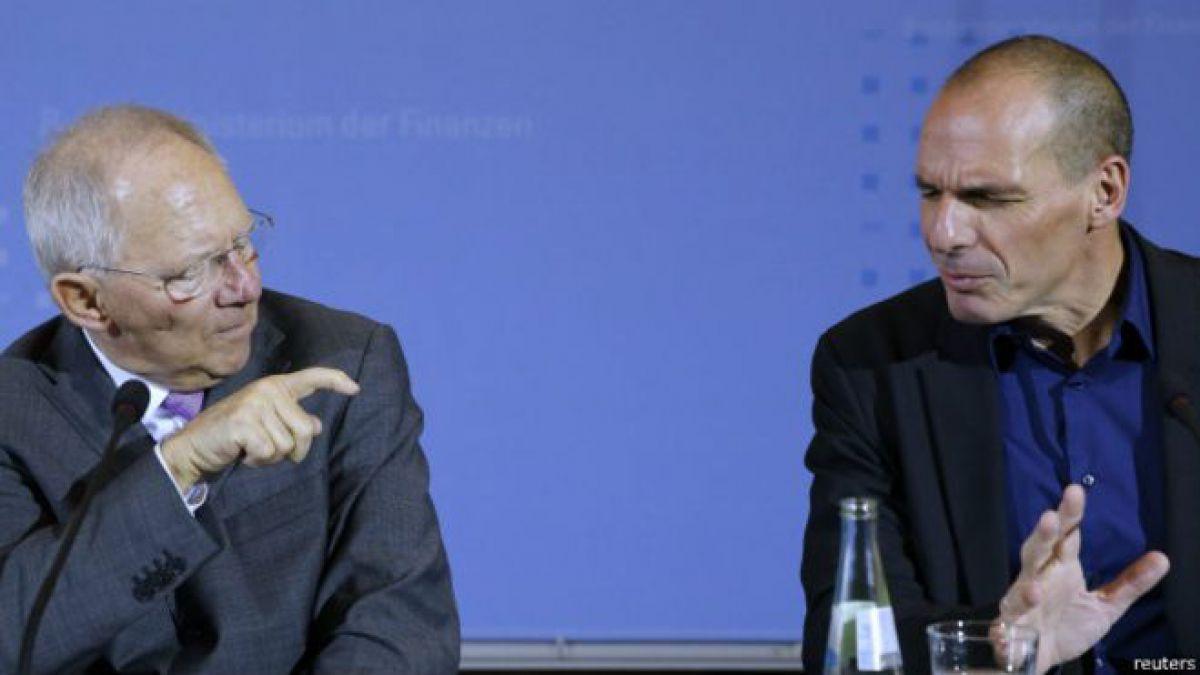 El marxista griego y el abogado alemán que tienen en sus manos la suerte de Europa