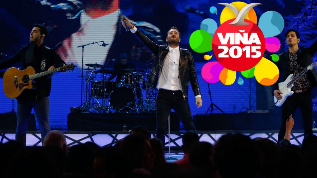 Viña 2015: Reik cierra segunda noche con show marcado por desafinaciones