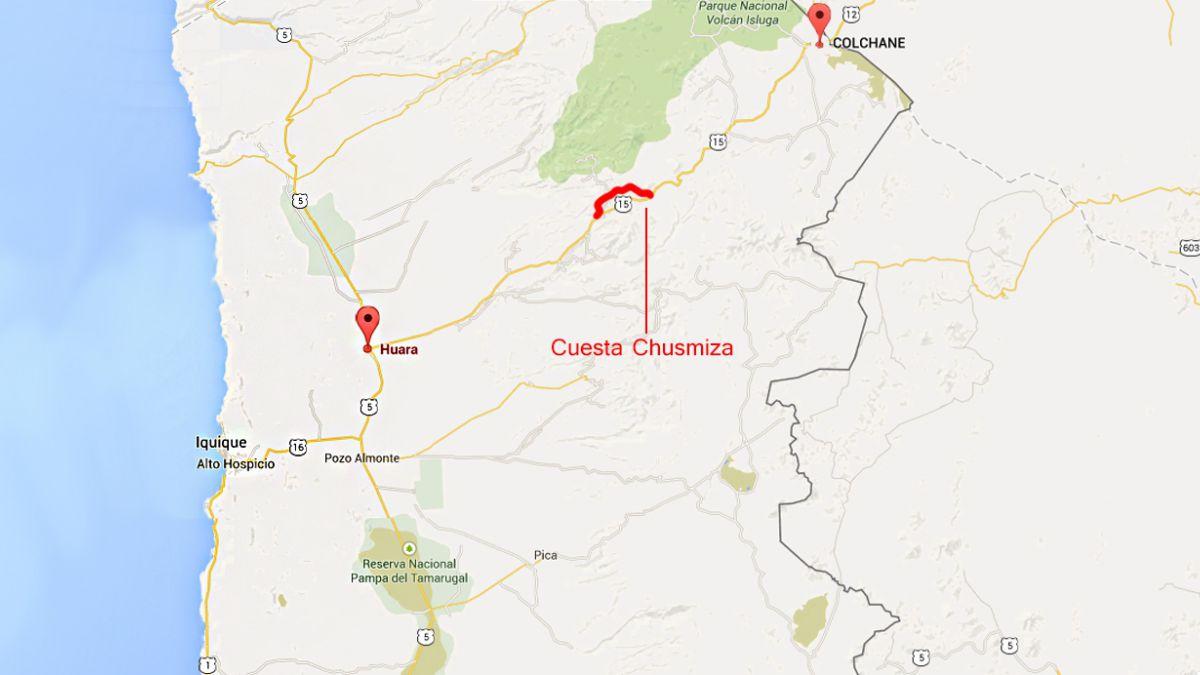 Volcamiento en Iquique deja al menos 4 muertos y 20 heridos