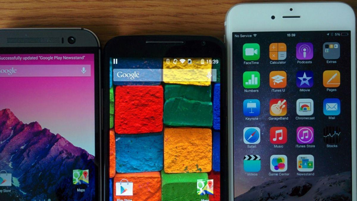 Android y iOS acapararon el 96,3% de los smartphones en 2014